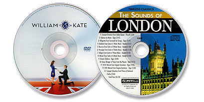 2 Disc Set (William & Kate DVD /The Sounds of London Audio CD)