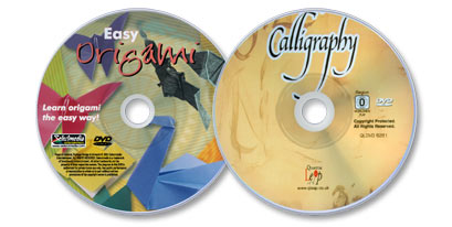 2 DVD Set (Calligraphy: A Complete Beginner's Guide /Easy Origami)