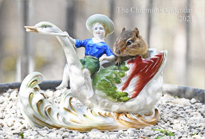 The Chipmunk Calendar 2021 - 2 for $8