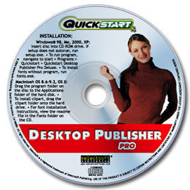Quickstart Desktop Publisher Pro