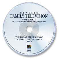 Classic Family Television 1 DVD