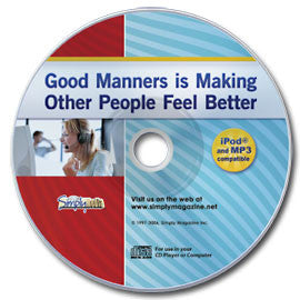 Good Manners Audio CD
