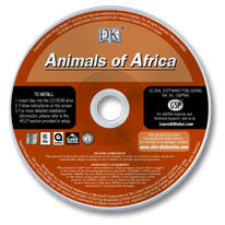 Animals of Africa CD-ROM