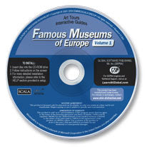 Famous Museums of Europe Vol. I CD-ROM