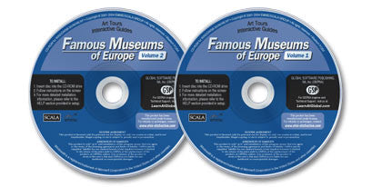 Famous Museums of Europe Vols. I & II 2 CD-ROM Set