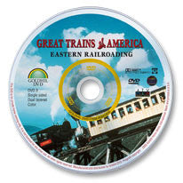 Great Trains of America: Eastern Railroading DVD