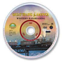 Great Trains of America: Western Railroading DVD