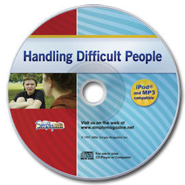 Handling Difficult People Audio CD