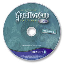 Greeting Card Factory Silver CD-ROM