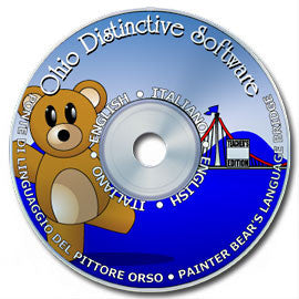 Leonardo's Language Bridge/Painter Bear's Language Bridge (Italian)