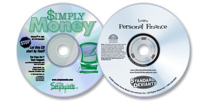 2 Disc Set (Learn Personal Finance DVD /Simply Money CD-ROM)