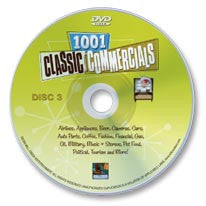 1001 Classic Commercials DVD Disc 3