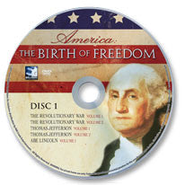 America: The Birth of Freedom DVD