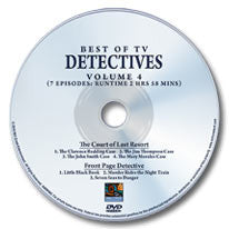 Best of TV Detectives: Volume 4 DVD