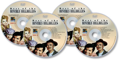 (4 DVD Set) Best of the Beverly Hillbillies