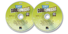 2 DVD Set (1001 Classic Commercials DVD Disc 1 /1001 Classic Commercials DVD Disc 3)