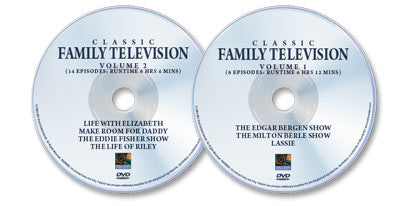 2 DVD Set (Classic Family Television 1 /Classic Family Television 2)