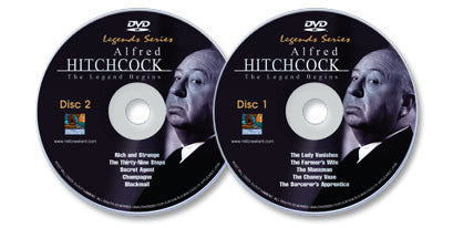 2 DVD Set (Alfred Hitchcock Classics Disc 1 /Alfred Hitchcock Classics Disc 2)