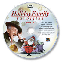 Holiday Family Favorites: Classics Christmas Movies Disc 4 DVD
