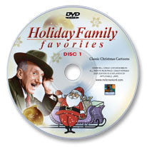 Holiday Family Favorites: Classic Christmas Shows Disc 1 DVD