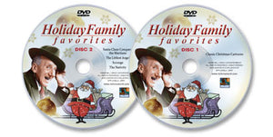 Holiday Family Favorites 2 DVD Set (Discs 1 & 2)