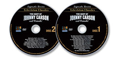 2 DVD Set (The Best of Johnny Carson Volume 1 /The Best of Johnny Carson Volume 2)