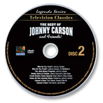The Best of Johnny Carson Volume 2 DVD