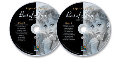 2 DVD Set (The Best of Lucy And Friends Disc 1 /The Best of Lucy And Friends Disc 2)