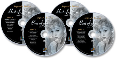 The Best of Lucy And Friends 4 DVD Set