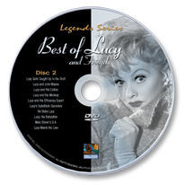 The Best of Lucy And Friends Disc 2 (DVD)