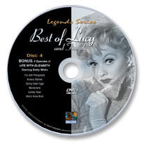 The Best of Lucy and Friends Disc 4 (Betty White) DVD