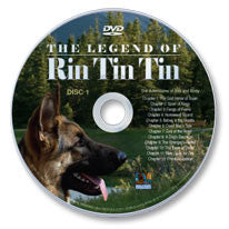 The Legend of Rin Tin Tin DVD