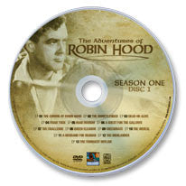 The Adventures of Robin Hood DVD