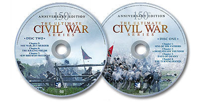 The Ultimate Civil War Series - 2 DVD Set