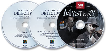 3 DVD Set (Classic Mystery Movies/ Best of TV Detectives: Volume 1/ Best of TV Detectives: Volume 2)