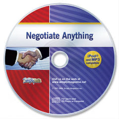 Negotiate Anything Audio CD