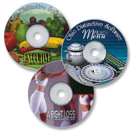 3 CD-ROM Set - Executive Diet Helper; Weight Loss Planner; Menu Planner