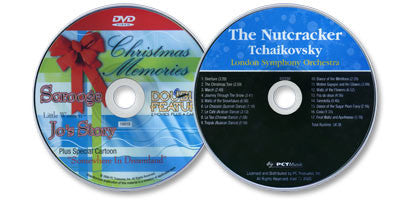 2 Disc Set (The Nutcracker Audio CD / Christmas Memories DVD)