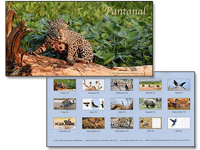 TWO FOR ONLY $9. 2018 Pantanal Calendars