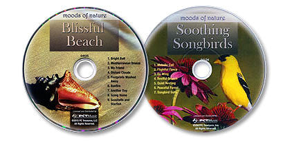 2 Audio CD Set (Soothing Songbirds /Blissful Beach)