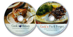 2 CD-ROM Set (Cook'n with Pillsbury /Cook'n Fix & Forget)
