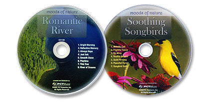 2 Audio CD Set (Soothing Songbirds /Romantic River)