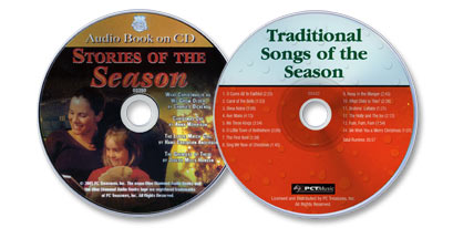 2 Audio CD Set (Stories of the Season /Traditional Songs of the Season)