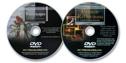 2 DVD Set (Winterscapes /Fireside Reflections)