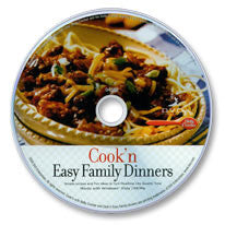 Cook'n Easy Family Dinners CD-ROM