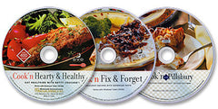 3 CD-ROM Set (Cook'n with Pillsbury /Cook'n Fix & Forget /Cook'n Hearty & Healthy)