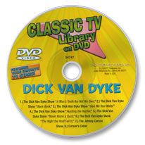 Eight-Episode Classic TV Library DVD (Dick Van Dyke /Johnny Carson)