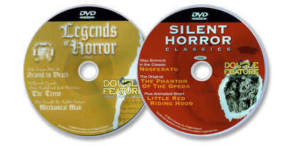 2 Disc Set (Legends of Horror DVD /Silent Horror Classics DVD)