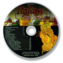 Italian Love Songs Audio CD