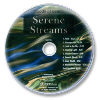 Serene Streams Audio CD